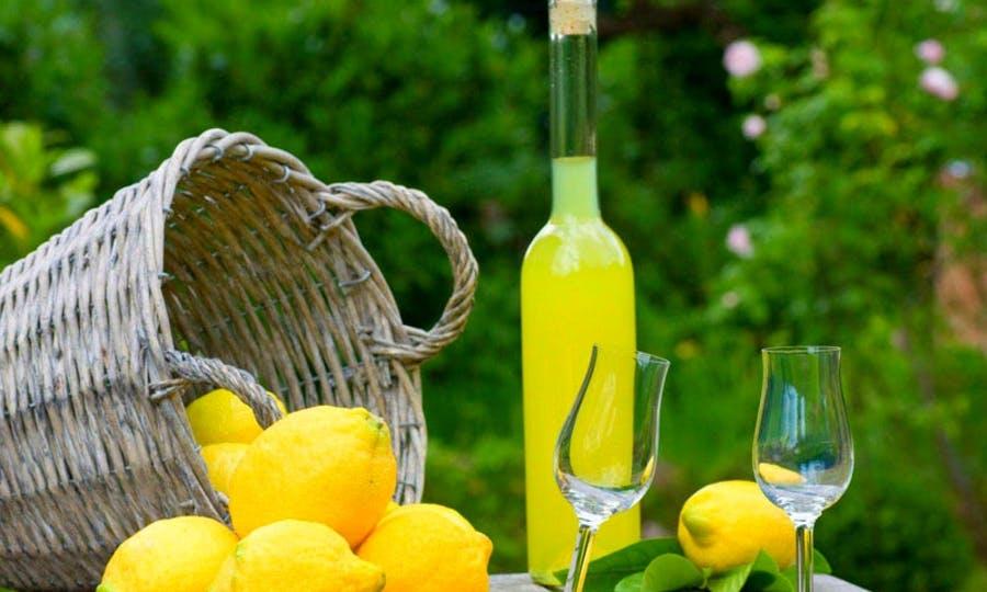 El limoncello de la Campania