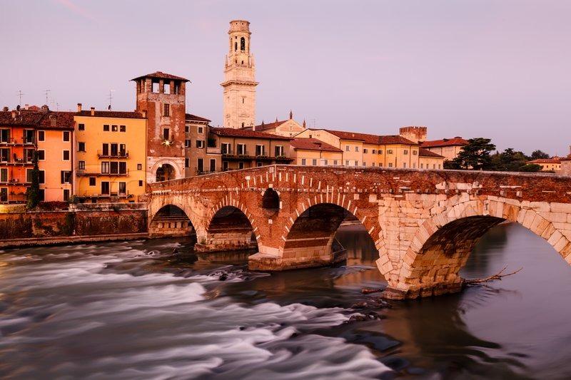 Verona y el dulce Pandoro