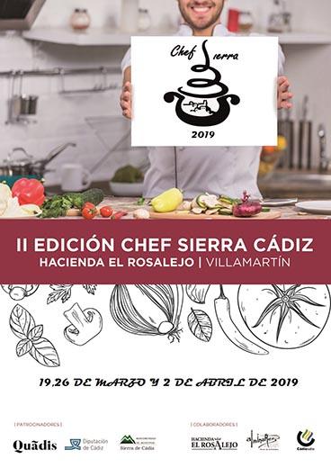 II Edición Concurso Chef Sierra de Cádiz 2019