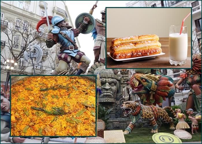 Ruta gastronómica por Valencia en Fallas