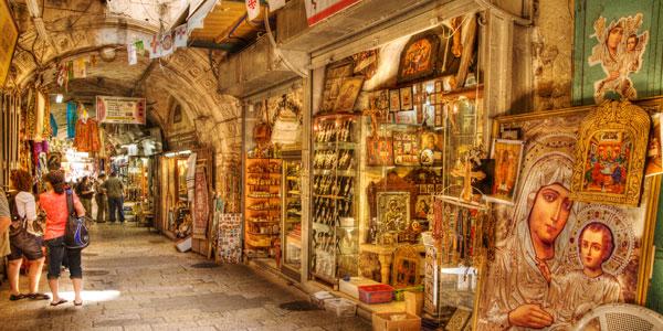 Jerusalén y sus mercados