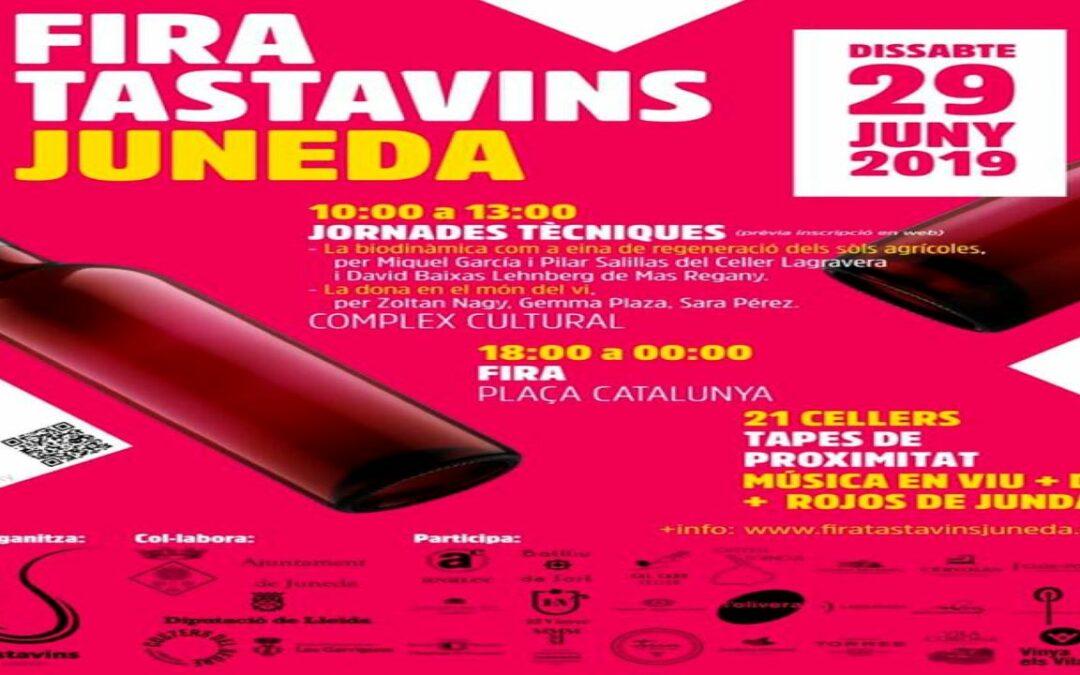 Fira Tastavins Juneda 2019