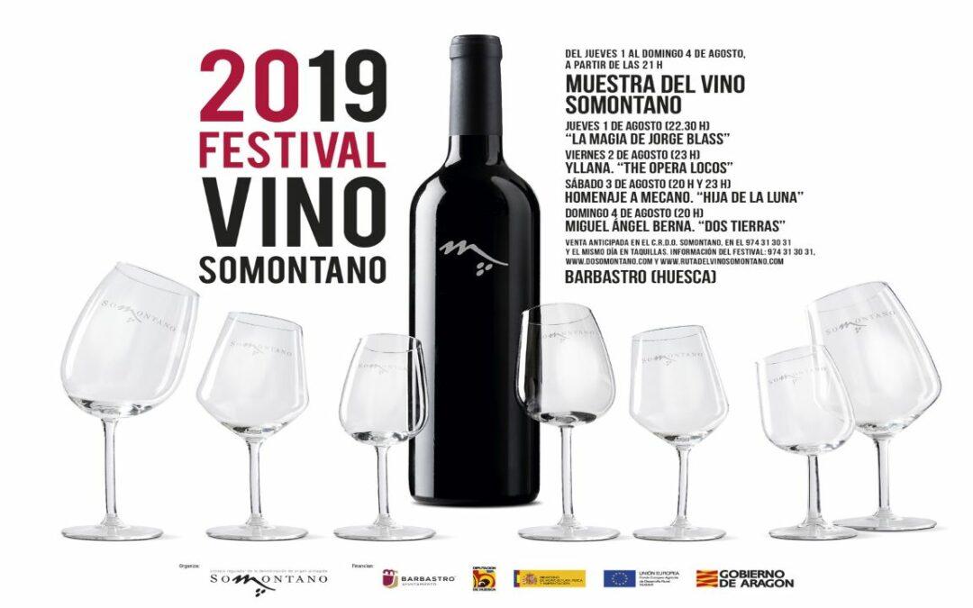 Festival Vino Somontano 2019