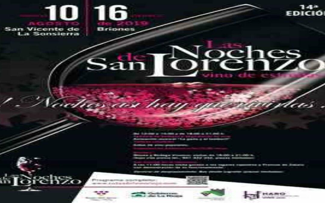 Las noches de San Lorenzo «Vino de estrellas»