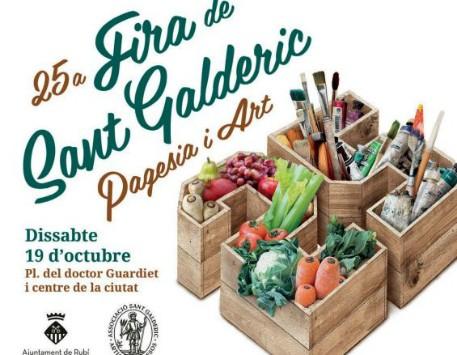 25a edició de la Fira de Sant Galderic