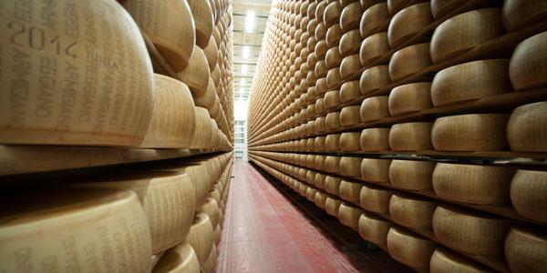 El día de las queserías abiertas del Parmigiano Reggiano