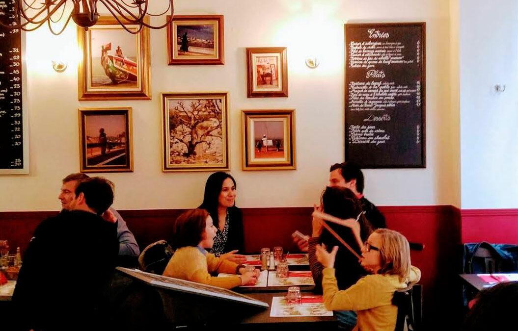 """5 Restaurantes de París y una """"croissanterie"""""""