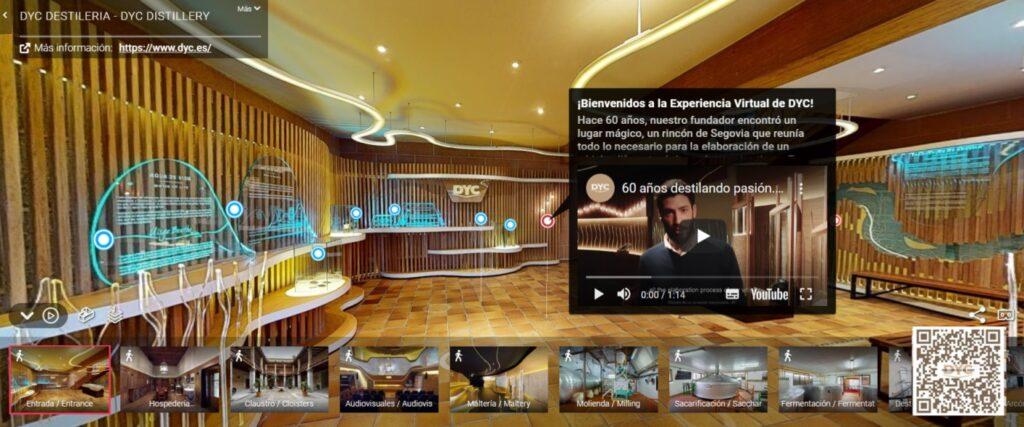 tour virtual DYC whisky